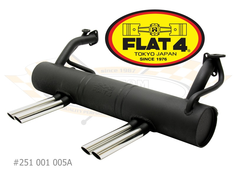 Flat4 Abarthstyle Exhaust 131600: Vw Abarth Exhaust At Woreks.co