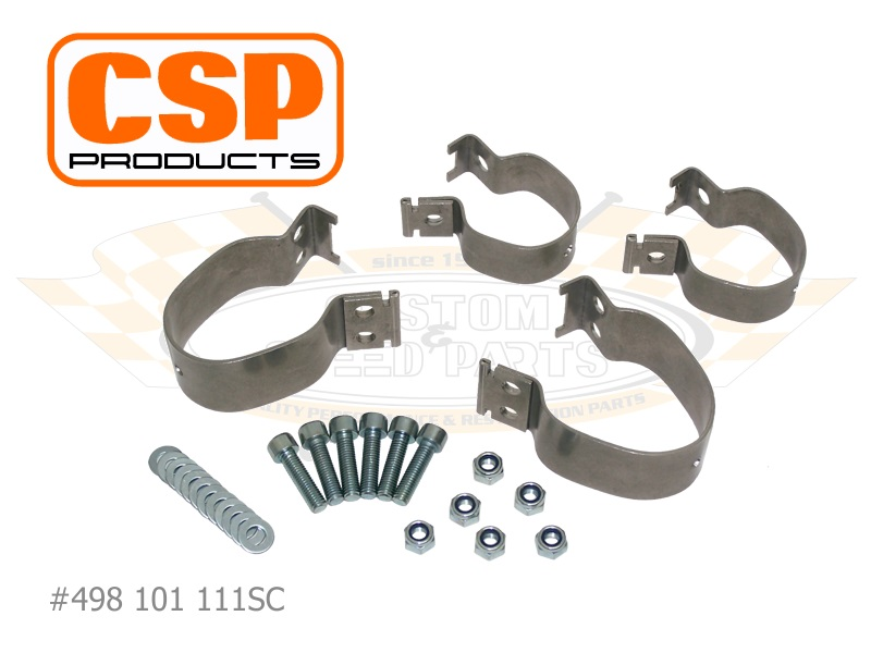 Csp stainless steel sway bar clamps front axle custom