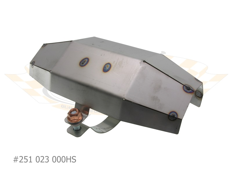 Heat Shield For Universal Catalytic Converter Exhaust