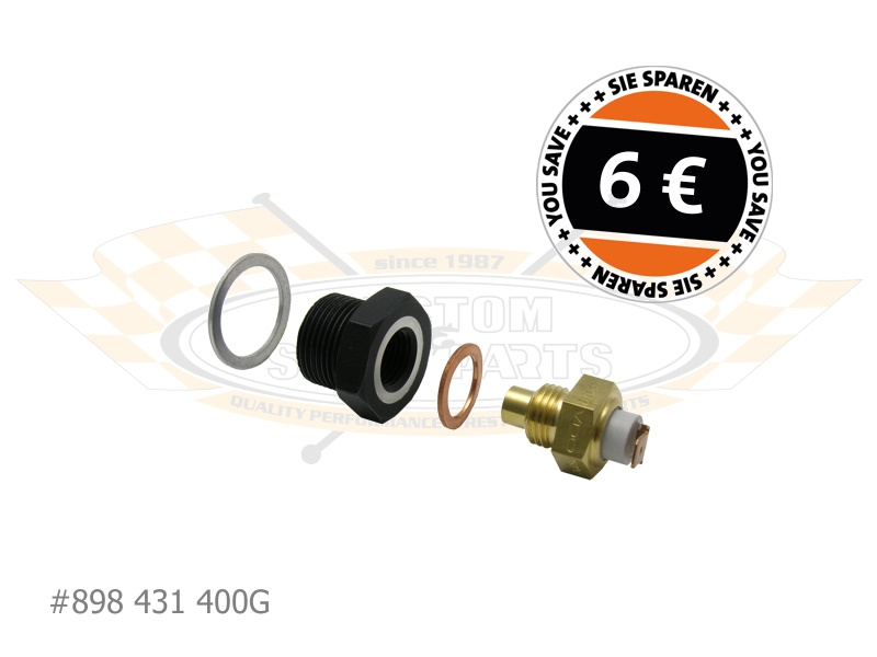 Oil Temp Sender with Type-4 Adapter (Offers) :: Custom