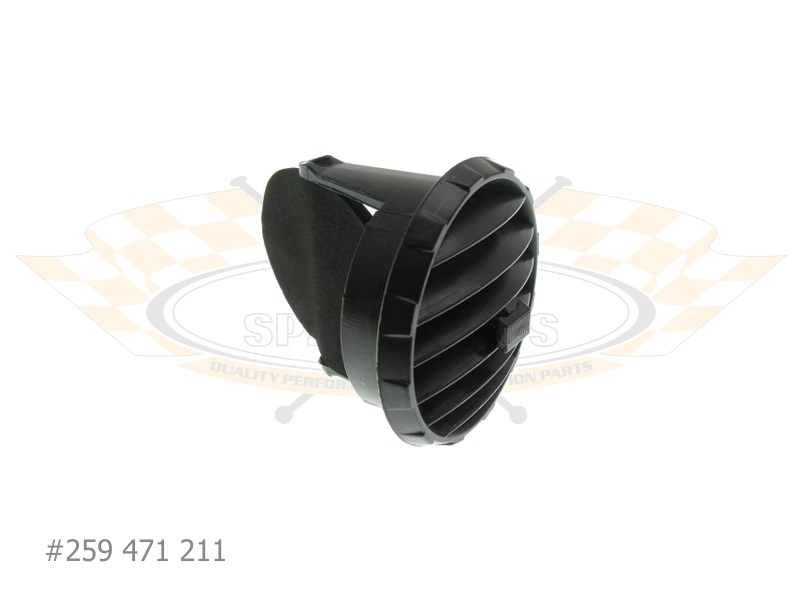 Fresh Air Vent Exhaust Heating Custom Speed Parts CSP