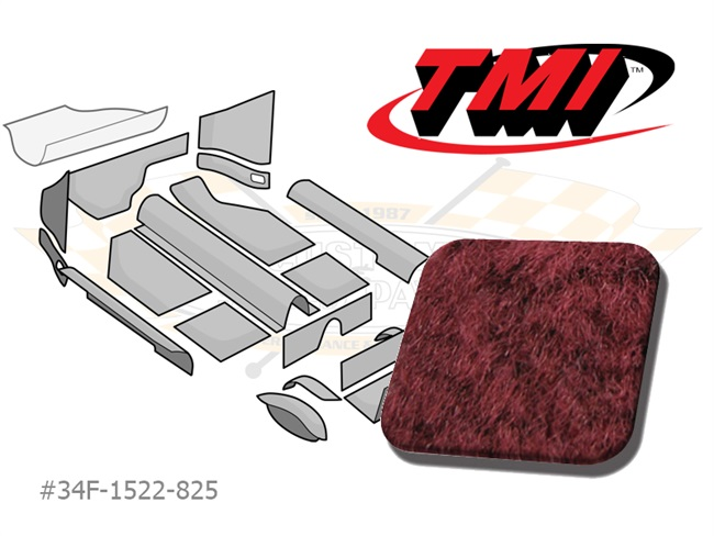 Carpet Kit Karmann Ghia '58-'68