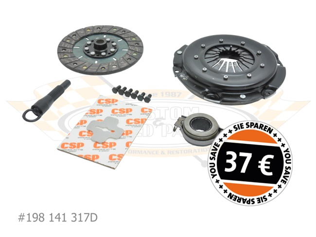 Clutch Kit Heavy Duty 200mm Daikin