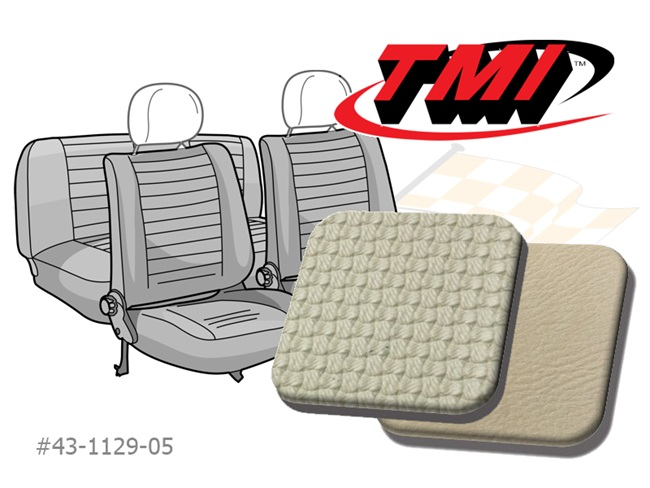 Seat Covers Beetle '77- off white