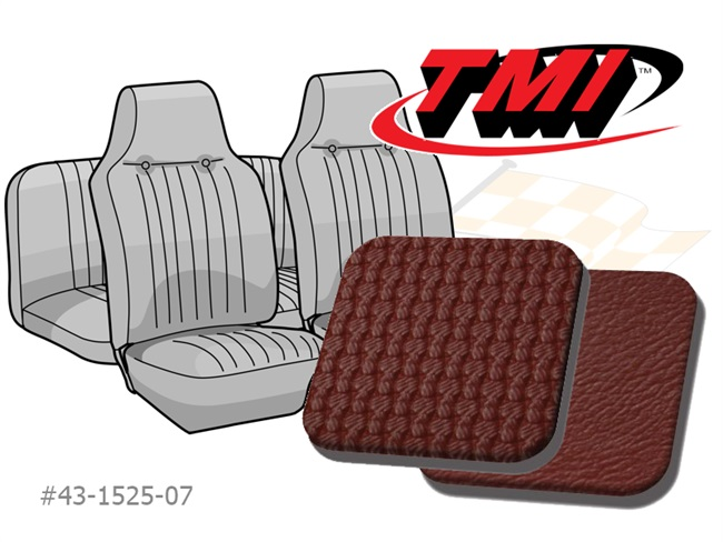 Seat Covers Karmann Ghia '68 red