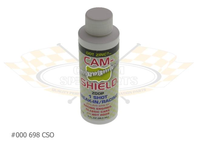 Cam-Shield Assembly Lube