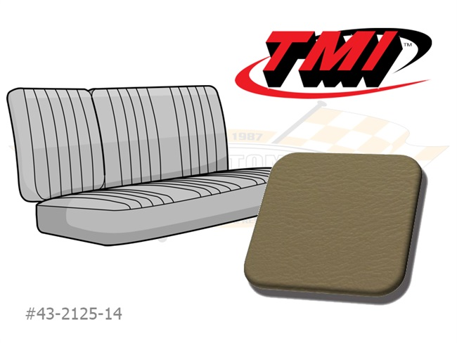 1/3-2/3 Middle Bench Cover