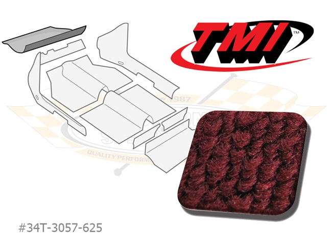 Carpet Kit Trunk front Type-3 '61-'70