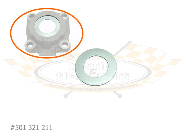 Oil Thrower Wheel Bearing Cover