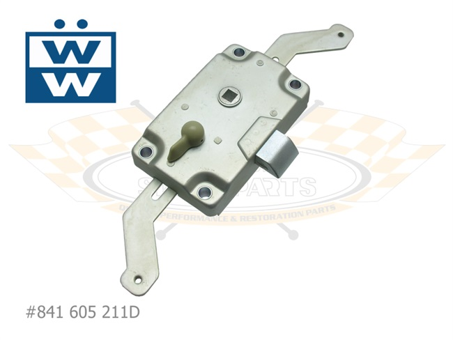 Cargo Door Lock Mechanism