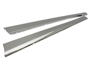 Running Boards Stainless Steel