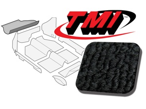 Trunk Carpet Kit Beetle '60-'67 #black