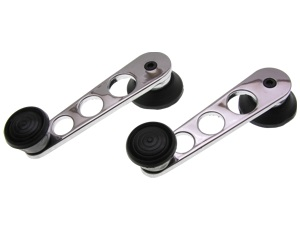 Window Cranks chromed/black