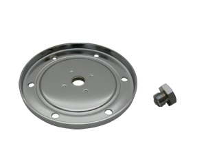 Oil Sump Cover chrome