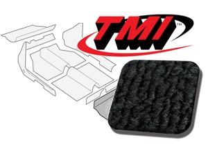 Carpet Kit Trunk rear Type-3 Squareback