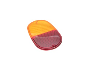 Tail Light Lenses red/amber