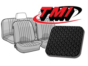 Seat Covers Karmann Ghia '69-'71 black