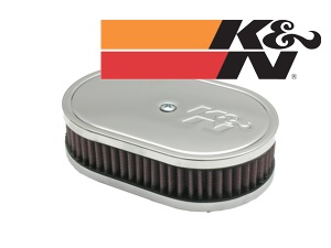 K&N Filter oval. 45mm height
