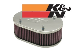 K&N Filter oval. 63mm height