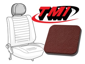 Headrest Covers Beetle '77- red