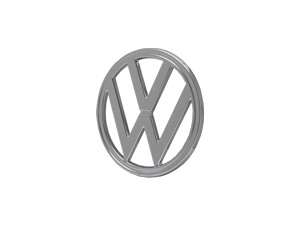 VW Emblem chrome