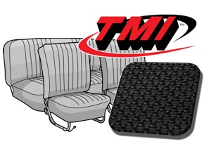 Seat Covers Beetle '54-'55 black