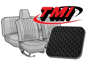 Seat Covers Beetle '70-'72 black