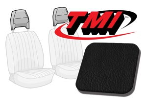 Head Rest Covers Bus '77-'79 black