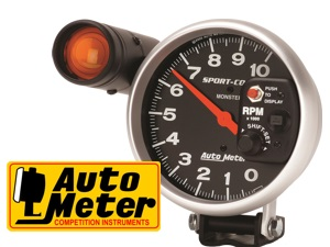 AUTOMETER Tachometer with external Shift Light