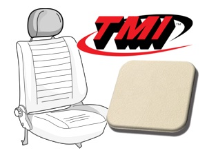 Headrest Covers Beetle '77- cream white