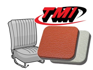Classic-Style Seat Covers Beetle '54-'55 brick red