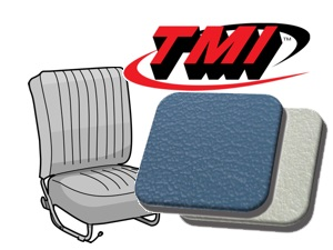 Classic-Style Seat Covers Beetle '54-'55 water blue