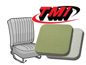 Classic-Style Seat Covers Beetle '54-'55 pea green