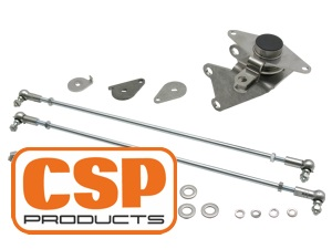 Type-4 Bellcrank Linkage for Porsche Fan System and IDF