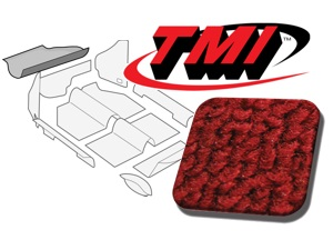 Trunk Carpet Kit Beetle '60-'67 #red