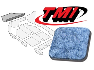 Trunk Carpet Kit Beetle '60-'67 #lt blue