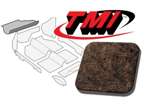 Trunk Carpet Kit Beetle '60-'67 #brown