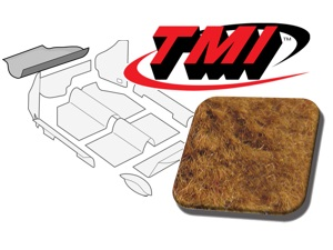 Trunk Carpet Kit Beetle '60-'67 #saddle