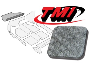 Trunk Carpet Kit Beetle '60-'67 #grey