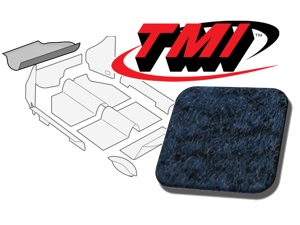 Trunk Carpet Kit Beetle '60-'67 #blue