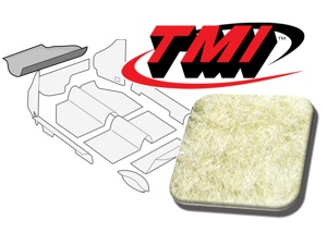Trunk Carpet Kit Beetle '60-'67 #beige