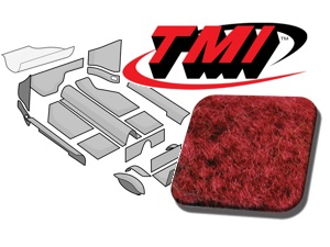 Carpet Kit Karmann Ghia Convertible '58-'68