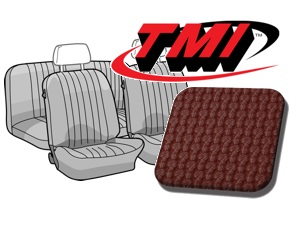 Seat Covers Karmann Ghia '69-'71 red