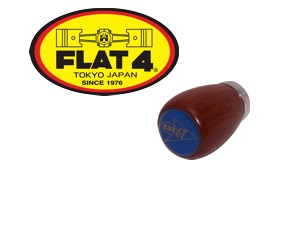 Shift Knob, Wood Flat-4 GT