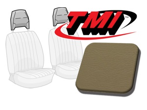 Head Rest Covers Bus '77-'79 beige