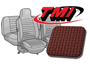 Seat Covers Beetle '74-'76 red