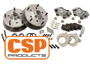 Disc brake 5x205 for original 14'' steel wheels or aftermarket wheels