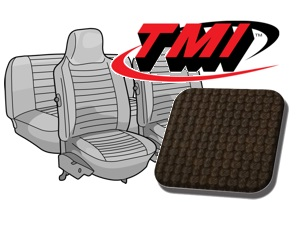 Seat Covers Beetle '74-'76 brown