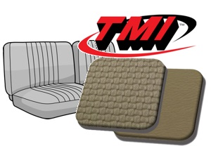 Seat Covers front Bench 1/3-2/3 '63-'67