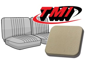 Seat Covers front Bench 1/3-2/3 '74-'76